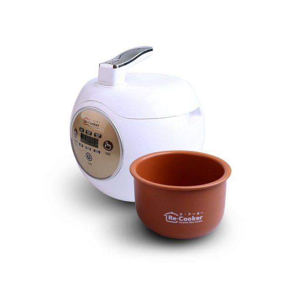 ReCooker Rice Cooker Full Keramik   Healtyh Rice Cooker Ceramic