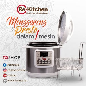 ReKitchen Electric Fryer & Pressure Cooker